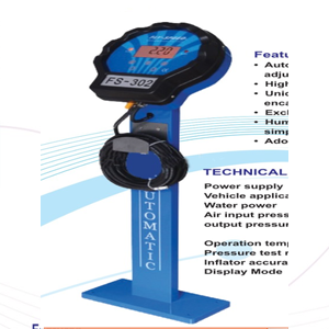 Electronic Tyre Inflator with Stand