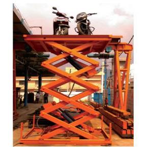 Hydraulic Showroom Workshop Lift