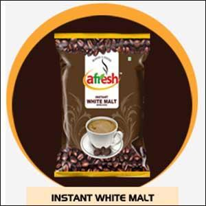 Instant white malt