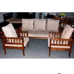 Wooden Sofa Set
