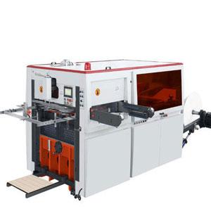 Automatic Paper Die Punching Machine with wooden Die