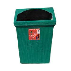 Green FRP Dustbin