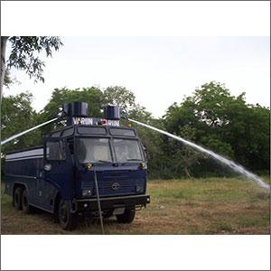 Hydraulic and Pneumatic System for Water Cannon