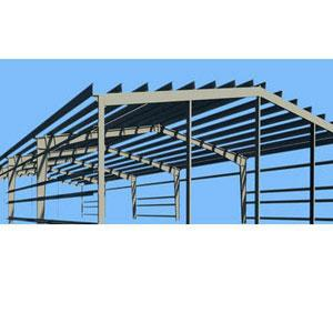 Commercial Prefabricated Shed Structure