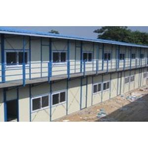 Pre Engineered Multi Story Labour Hutment
