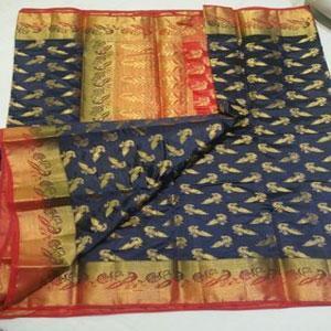 Owomaniya Soft Silk Designer Saree