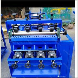 STEEL SCRUBBER MAKING MACHINE