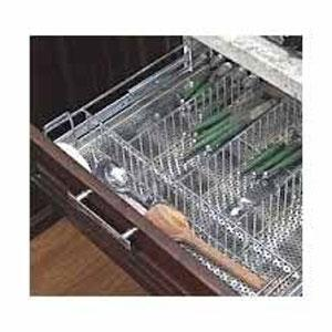 Perforated Cutlery Basket