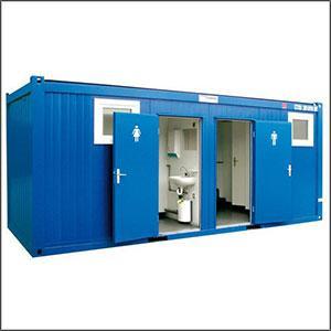 Mild Steel Portable Toilets