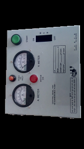 control panel of submersible pump 3