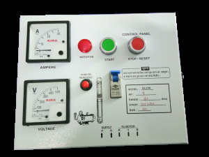 control panel of submersible pump 4