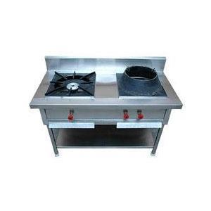 2 Burner Chinese Cooking Range
