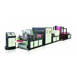 Non Woven Box Bag Machine with Online Loop