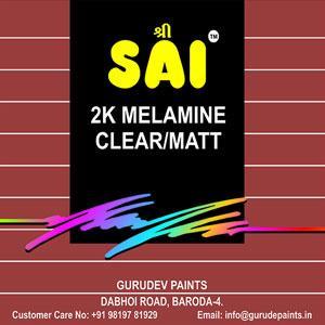 2K – Melamine – Clear/Matt