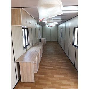 Office Cabin With Workstation
