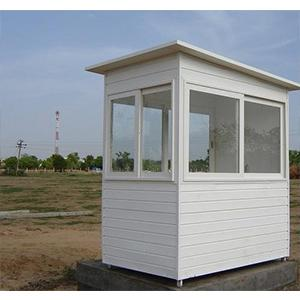 PUF Panel Security Cabin