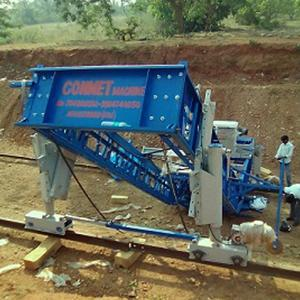 Concrete Canal Paver Machine